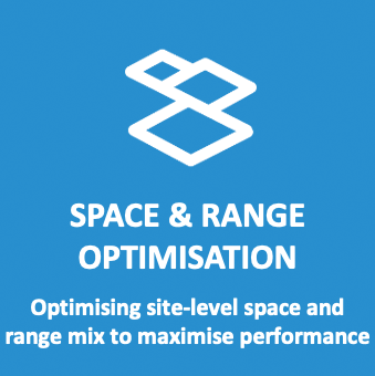 Space & Range Optimisation: Optimising site-level space and range mix to maximise performance